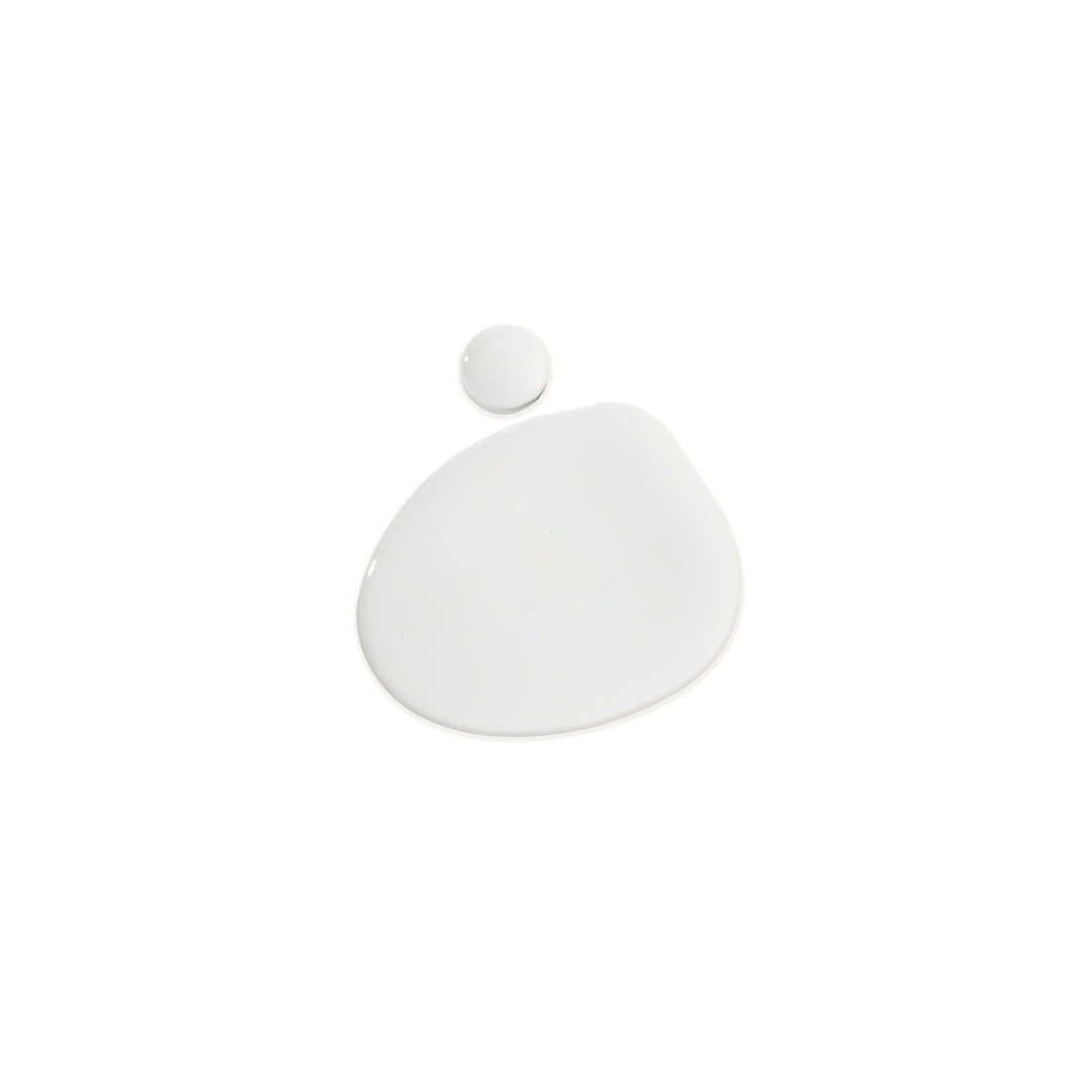 One drop of Lazarus Naturals THC-free flavorless high potency on a clear background